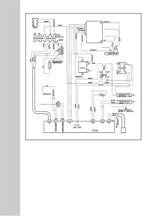 Dometic RM 7601 L, RM 7605 L, RM 7651 L, RM 7655 L Wiring