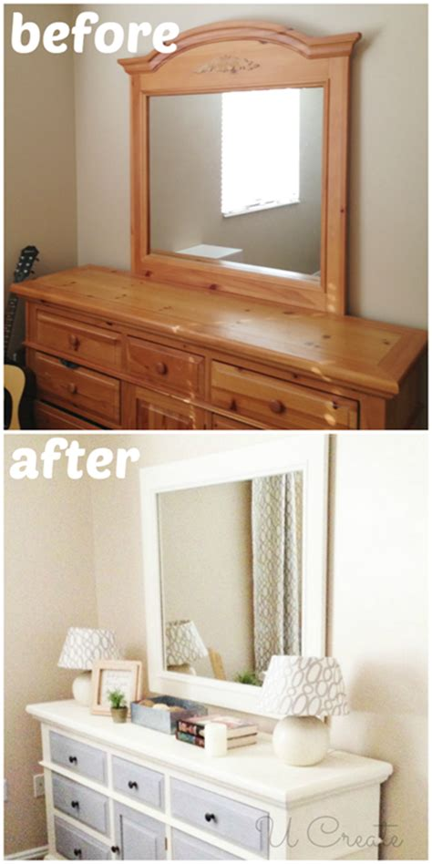 painting bedroom furniture before and after how to use chalk paint dresser makeover u create