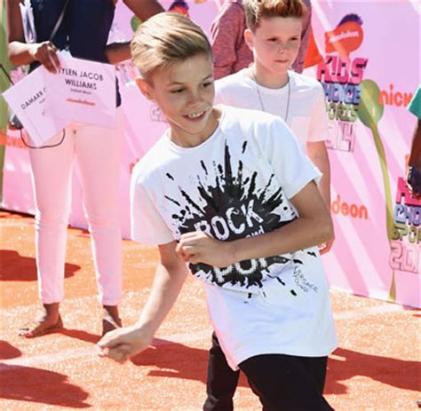 romeo beckham earnings how romeo beckham earned whopping 45 000 pounds for a day