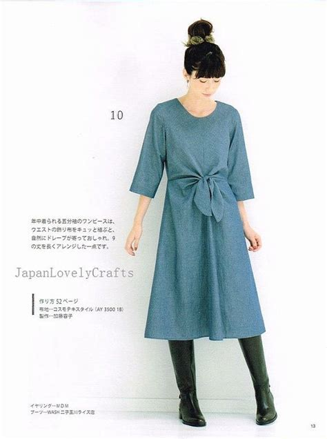 pattern for japanese one piece top 1000 ideas about japanese sewing patterns on pinterest