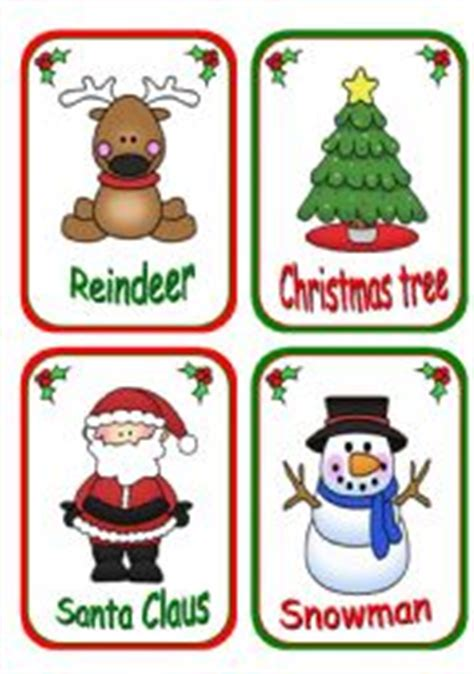 printable christmas flashcards english worksheet christmas flashcards reedit