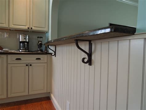 Supports For Granite Countertop Overhang by What You Need To About Countertop Brackets Ward Log