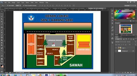 cara layout menggunakan photoshop cara membuat layout denah dengan menggunakan adobe