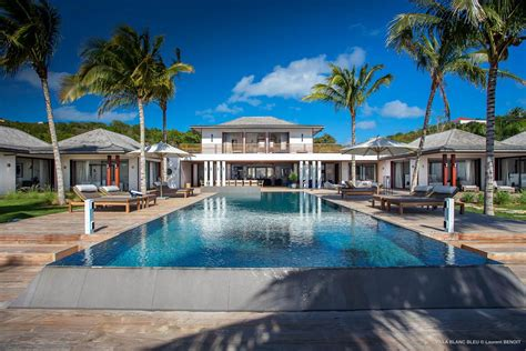 bleu house villa blanc bleu st barths villas eden rock villa rental