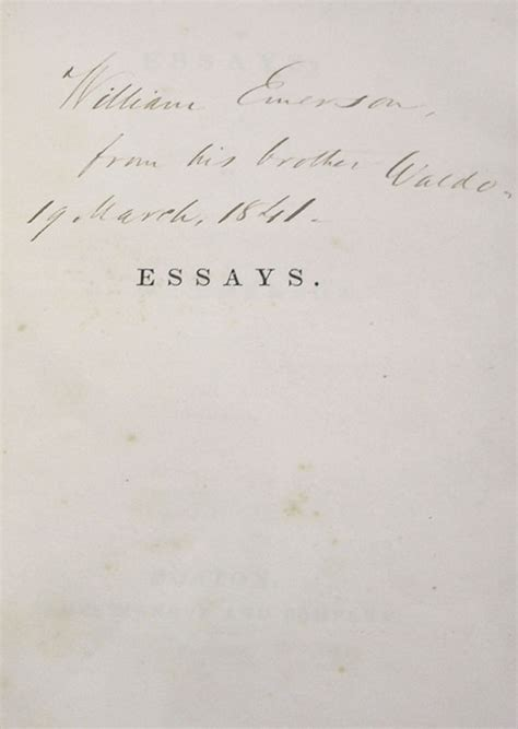 thesis of education by ralph waldo emerson essays ralph waldo emerson bookshelf pinterest