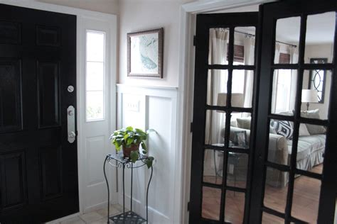 Black Interior Door by Black Painted Interior Doors Why Not Homesfeed