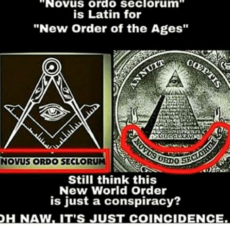 New Meme Order - novus ordo seclorum is latin for new order of the ages