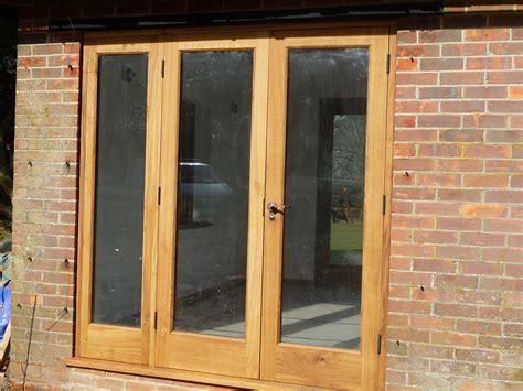 Oak Bi Fold Doors The West Sussex Antique Timber Company Glazed Barn Doors