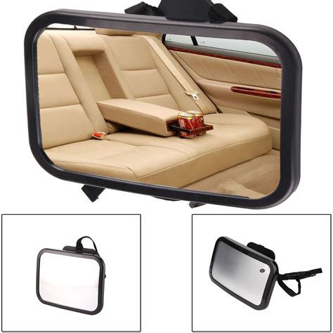wide car seat for big baby large wide baby child car safety back seat mirror rear