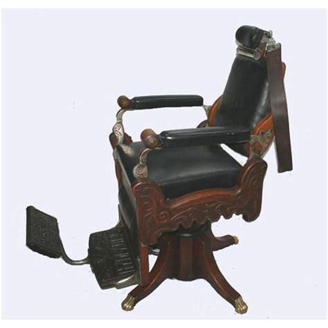 Tacks Upholstery Kochs Wooden Barber Chair