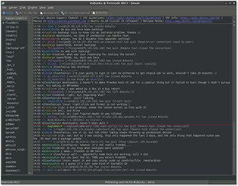 best irc client smuxi user friendly and cross platform irc client for