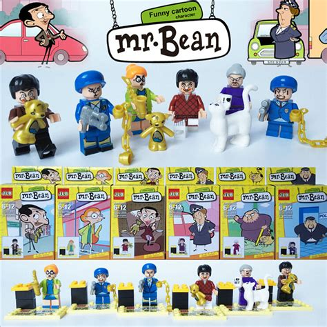 Loz Nano Block Mr Bean Teddy mr bean de dibujos animados compra lotes baratos de mr bean de dibujos animados de china