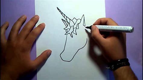 imagenes de unicornios hechos a lapiz como dibujar un unicornio paso a paso how to draw a