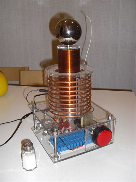 Build A Tesla Coil At Home How To Build Tesla Coil Amazing Tesla