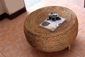 how to make a living room table from an tire 8 steps
