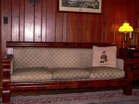 empire sofa for sale c1840 empire box sofa flame mahogany 81 long for sale