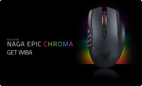 Mouse Razer Chroma razer naga epic chroma gaming mouse customizable chroma lighting