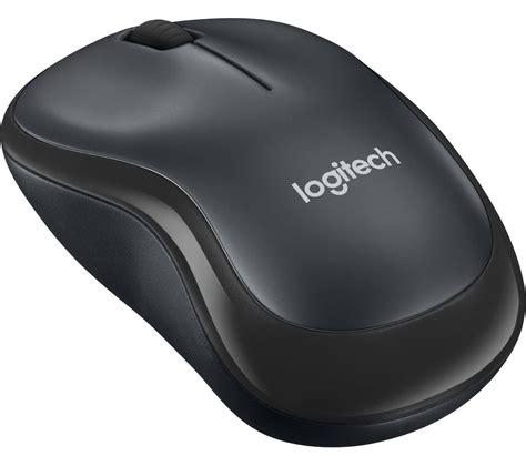 logitech m220 silent wireless optical mouse charcoal