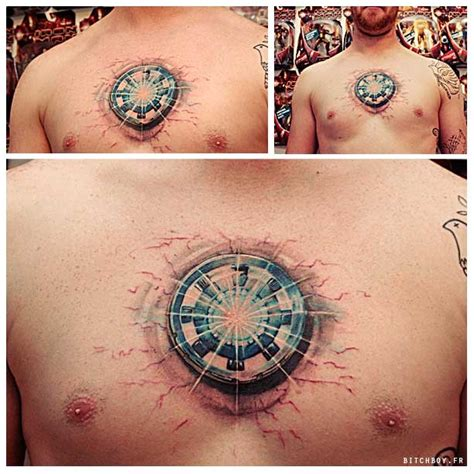 iron man reactor tattoo tattoo designs