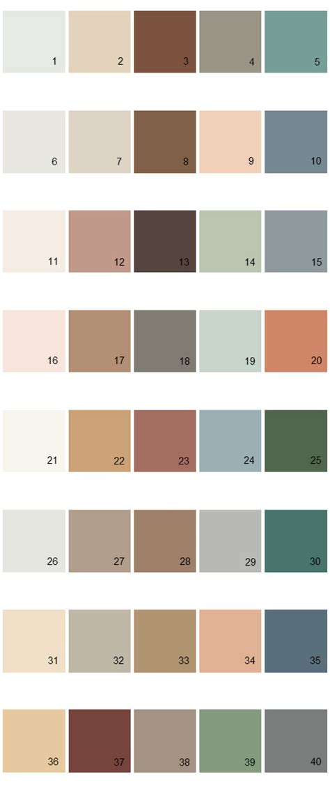 behr paint colors palette 03 house paint colors