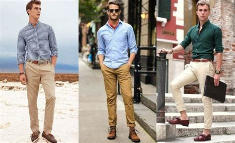 Tshirt Work Play Dongker Putih 7 trendy ways to style your beige chinos