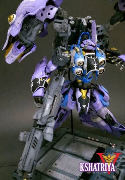 Hg Gundam Zz By Gundam Workshop kshatriya v custom build by jeffho