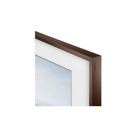 Linx Audio Digital Photo Frame by Samsung Customisable Frame In Walnut Beige Or White For
