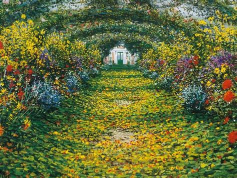 Monet Flower Garden Claude Monet Monet Wallpapers Hd Photo Gallary Free Wallpaper Hd Wallpaper Oh