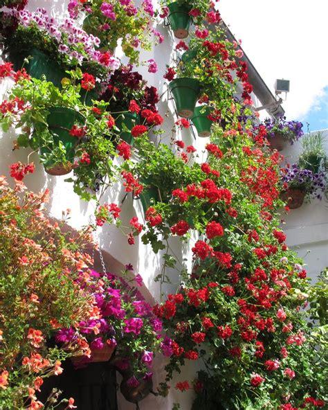 imagenes de jardines con geranios 17 mejores im 225 genes sobre fachadas con flores en pinterest