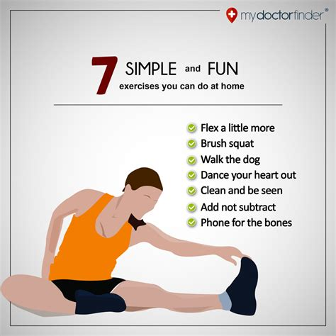 7 simple and exercises you can do at home my doctor