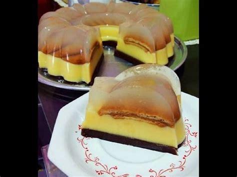 Puding Lapis Regal Puding Regal Regal Pudding resep puding 3 lapis