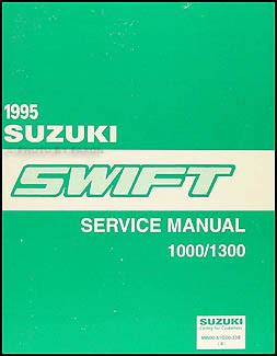 suzuki swift 1995 sch service manual download schematics 1995 suzuki swift wiring diagram manual original
