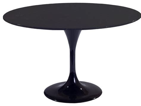 Molded Dining Table 27 Quot Molded Black Fiberglass Table Contemporary Dining Tables By Contemporary