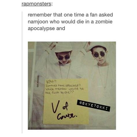 bts zombie apocalypse scenario 354 best images about bangtan sonyeondan on pinterest