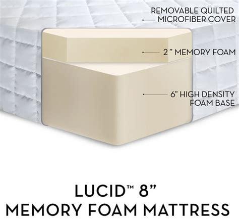 best 8 inch memory foam mattresses ohmattress