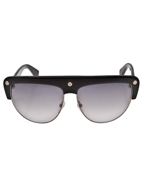 Frame Kacamata Hm 6110 Blk tom ford ad caign frame sunglasses in black lyst