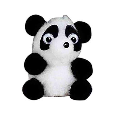 panda pomeranian weepuls tm panda pom pom fuzzy animal shaped creatures item 818sr panda