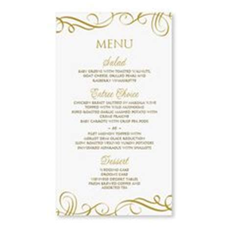 template for dinner menus and place cards 1000 images about menu cards on menu cards