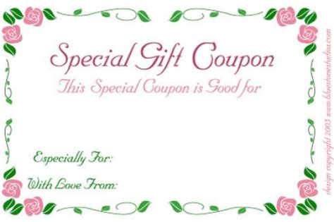 pin printable avon gift certificates image search results