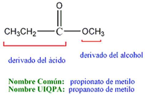 ester quimica esteres