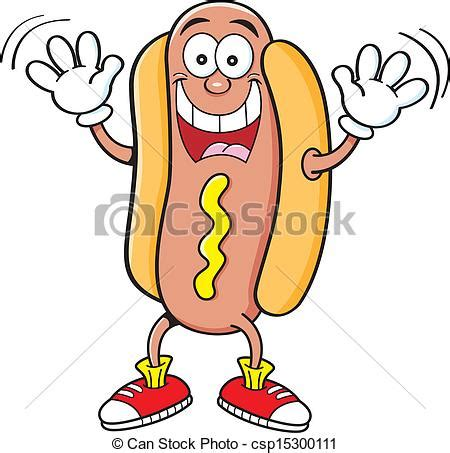 imagenes hot caricaturas vector caricatura hot dog ondulaci 243 n stock de