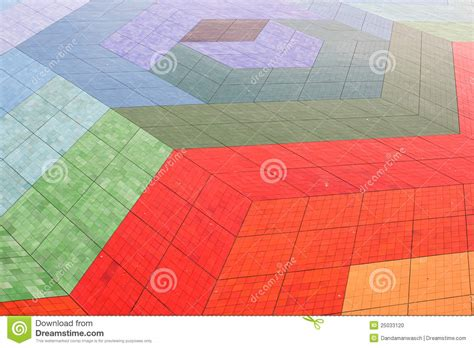Colorful Floor Tile Colorful Floor Tiles Stock Photo Image 25033120