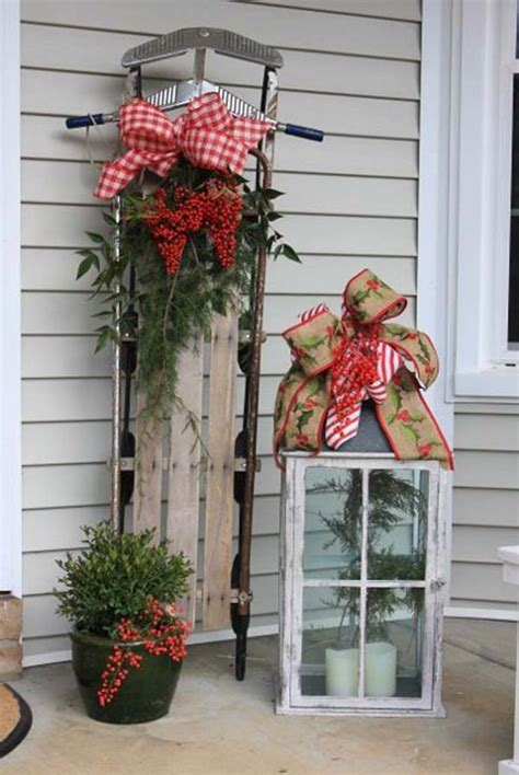 breathtaking outdoor christmas decorations for some