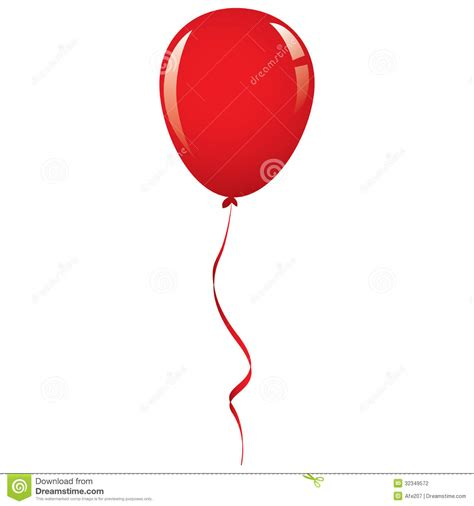 Balloon String - vector balloon ribbon stock vector image of happiness