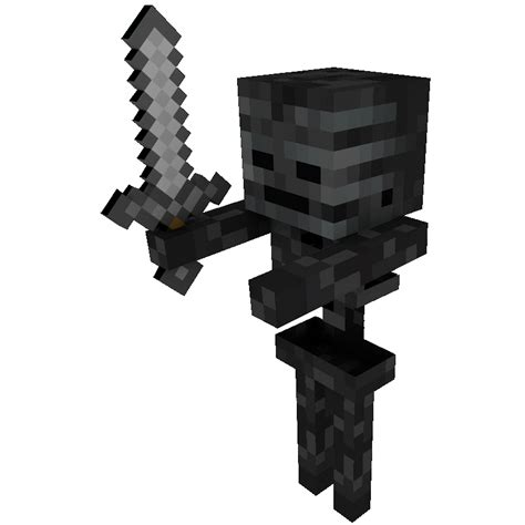 minecraft skeleton template papercraft wither skeleton