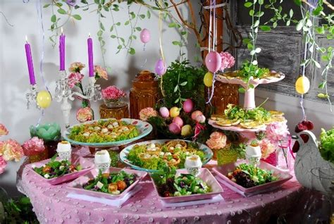 Easter Buffet Ideas