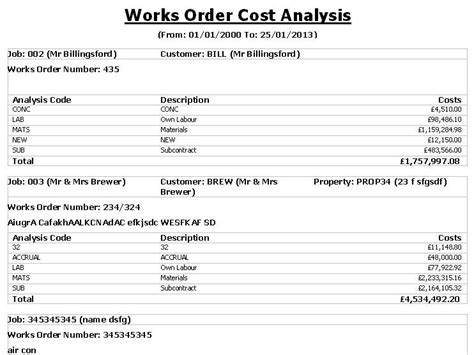 cost analysis report template cost analysis report template 28 images data analysis
