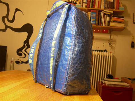 ikea bag hack ikea hack blue bag to backpack