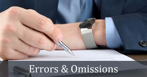 Errors And Omissions 6 questions to ask your errors omissions insurance