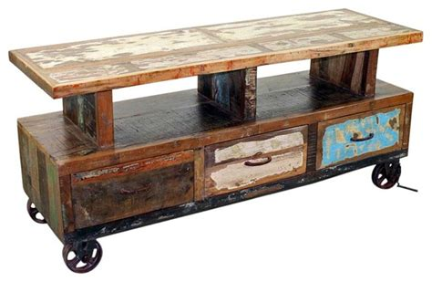 entertainment center on wheels wooden tv stand with wheels eclectic entertainment